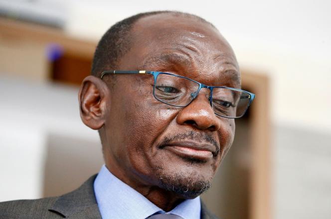 L'ancien vice-président duZimbabwe,Kembo Mohadi, le 10 septembre 2019 àSingapour.
