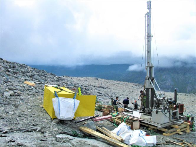Près de Narsaq, dans le sud du Groenland, où se trouve un projet d'exploitation d'un gisement de terres rares.