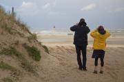 La jetée du Verdon-sur-Mer (Gironde).