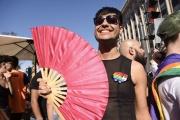 Lors de la Marche des fierté de Buenos Aires, en novembre2019.