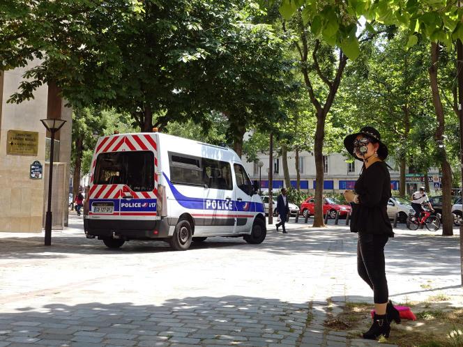 Dans le quartier de Belleville, à Paris, en juin2015.