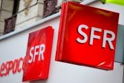 A l'entrée d'une agence SFR, à Lille (Nord),en 2012.