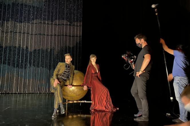 «Mithridate», de Racine, mise en scène d'Eric Vigner.