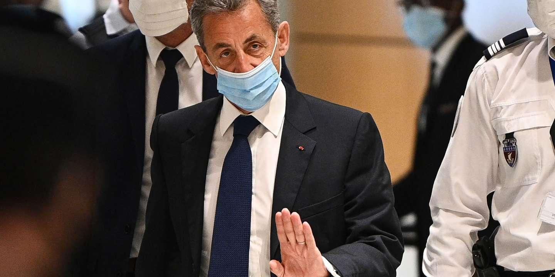 Condamné à trois ans de prison, Nicolas Sarkozy se défend et se dit victime « d'injustice » - Le Monde