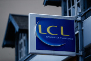 Agence LCL à Ouistreham (Calvados), en 2019.