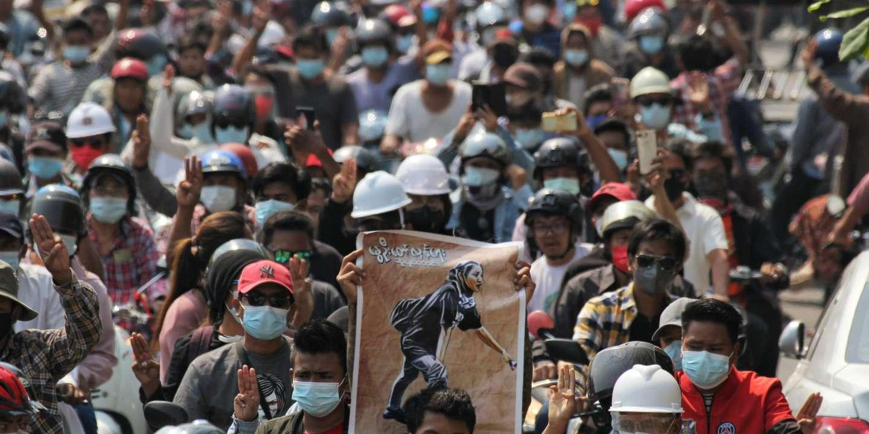 Birmanie : nouvelle journée de manifestations, après la sanglante répression de mercredi - Le Monde