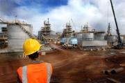 Le site d'exploitation du nickel de Goro, du brésilien Vale, en Nouvelle-Calédonie, en 2010.