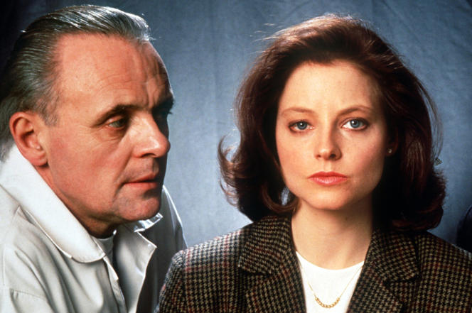 Anthony Hopkins et Jodie Foster dans« Le Silence des agneaux» (1991), de Jonathan Demme.