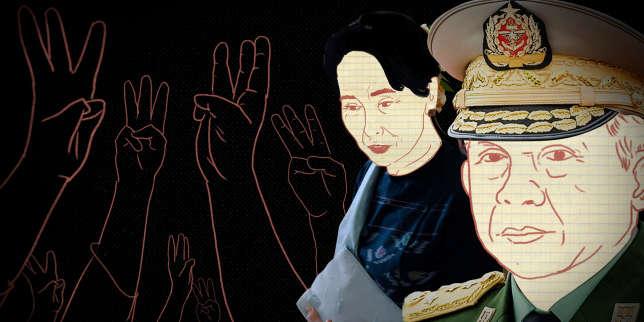 Birmanie: pourquoi l'armée s'est-elle toujours sentie autant menacée par Aung San Suu Kyi?