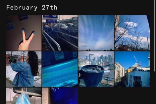 Chez Dispo, les albums collaboratifs respectent souvent un thème commun: ici, la couleur bleue.