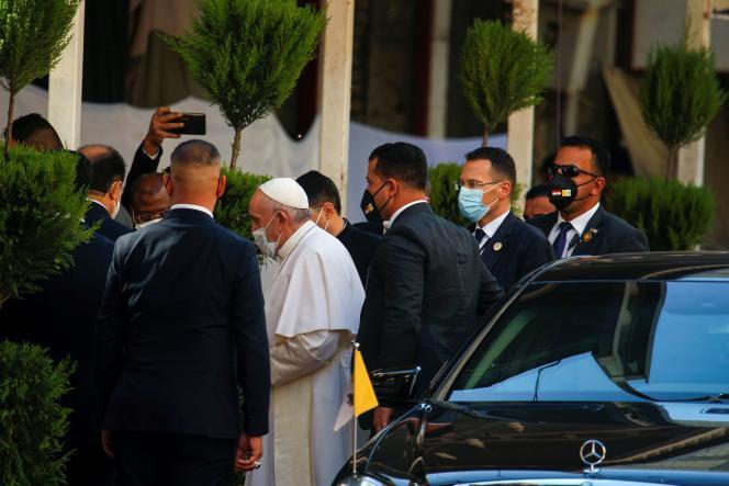 El 6 de marzo, el Papa Francisco llegó a Najaf, Irak, para reunirse con el ayatolá Ali al-Sistani.