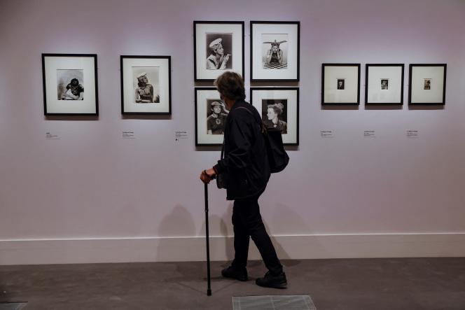 Lors de l'exposition «Man Ray et la mode », en septembre 2020, au Musée du Luxembourg, à Paris.