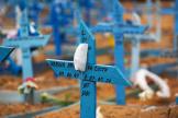 Un cimetière à Manaus.