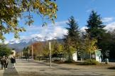 Près du campus de Sciences Po Grenoble, en 2016.