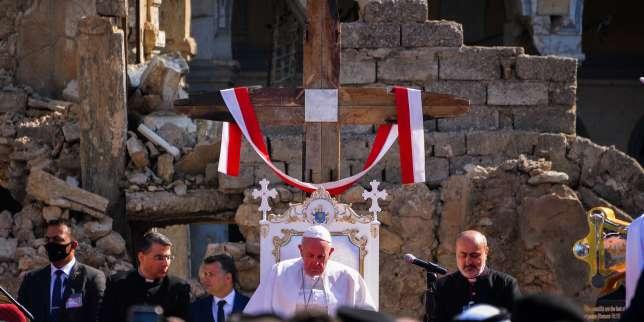 «Ne perdez pas l'espérance»: le message du pape François depuis Karakoch, bastion du christianisme en Irak