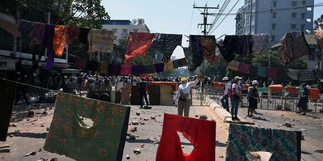 «Nous devons maintenir notre combat au plus haut niveau»: en Birmanie, des milliers de manifestants prodémocratie dans la rue