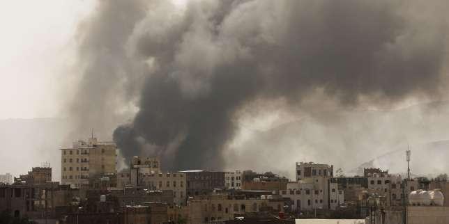 Au Yémen, la coalition dirigée par Riyad frappe la capitale sous contrôle rebelle