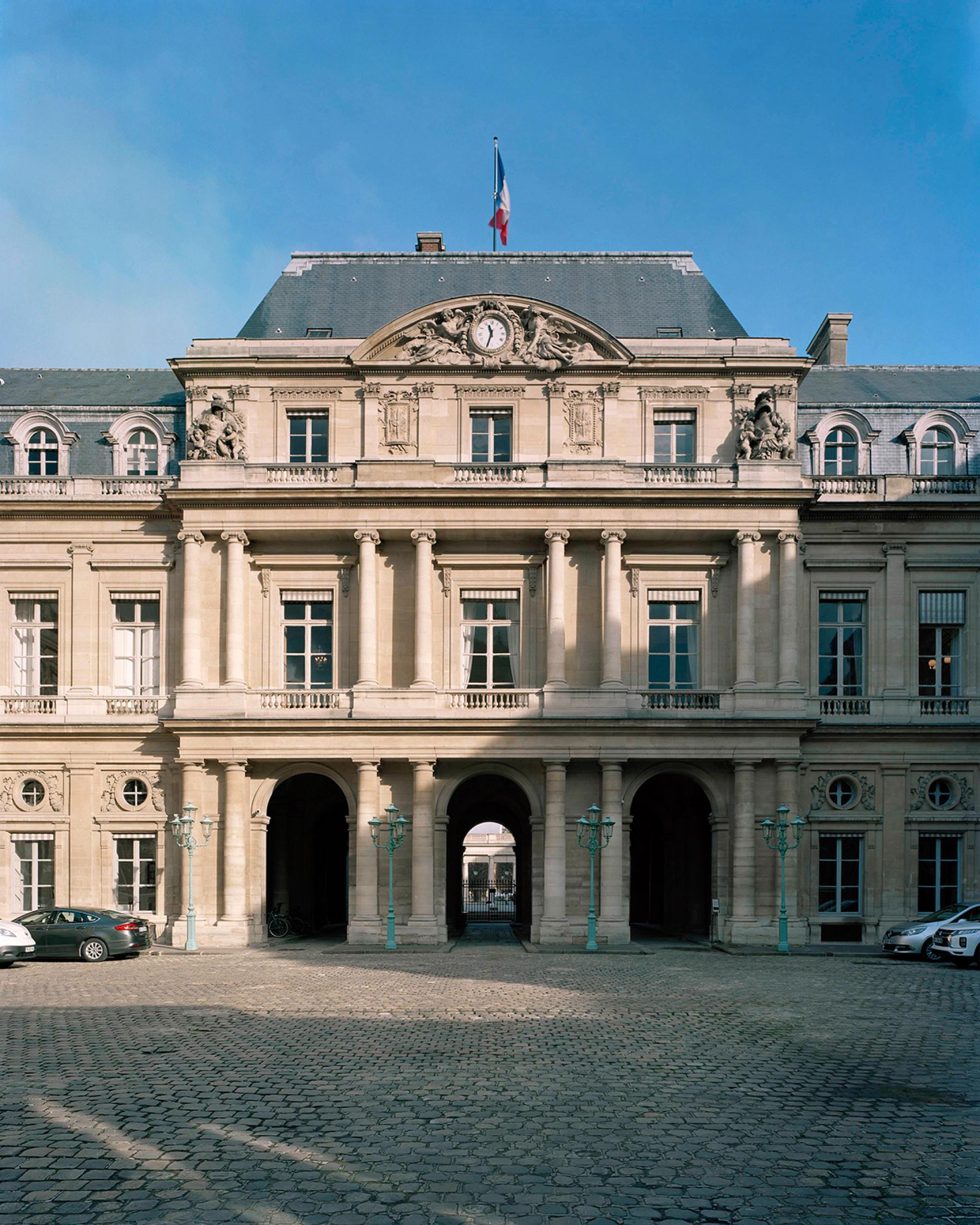 Le siège du Conseil d'Etat, à Paris, en février.