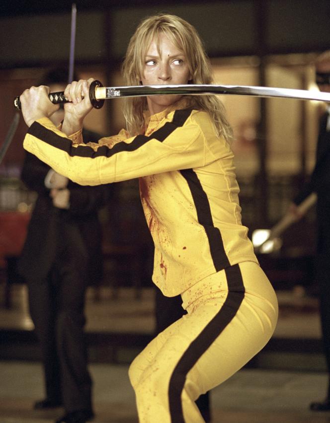 Uma Thurman,dans«Kill Bill: Volume1» (2003), de Quentin Tarantino.