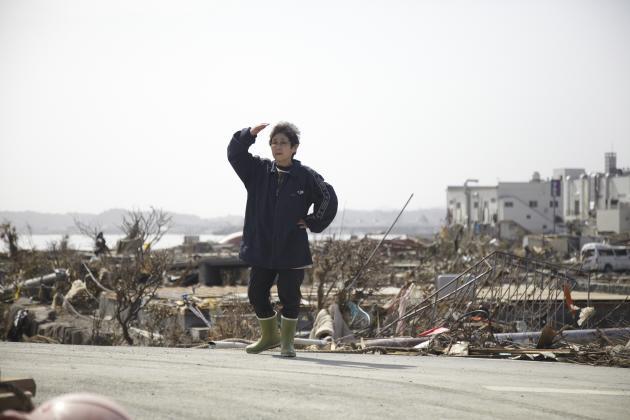 Dans la ville de Kesennuma, le 20 mars 2011.