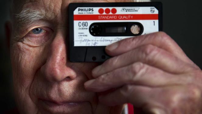 Mort le 6 mars 2021, Lou Ottens avait inventé la cassette audio en1963. Ici, l'ingénieur néerlandais, le 23 Janvier 2013.