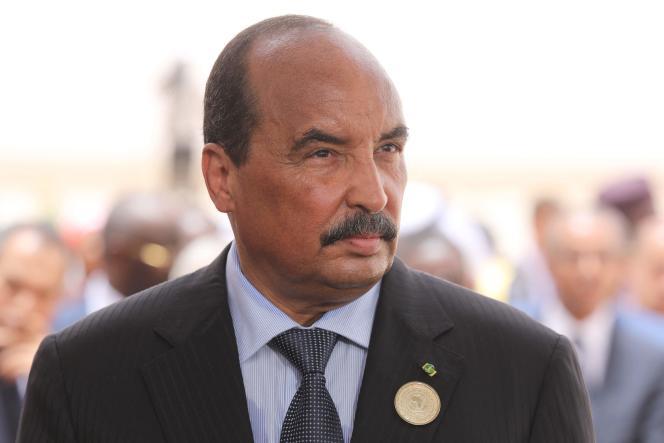 L'ancien président mauritanien Mohamed Ould Abdel Aziz, le 2 juillet 2018 à Nouakchott.