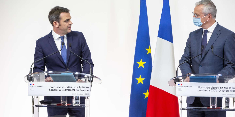 Covid-19 : Olivier Véran et Bruno Le Maire, deux ministres au cœur de la crise - Le Monde