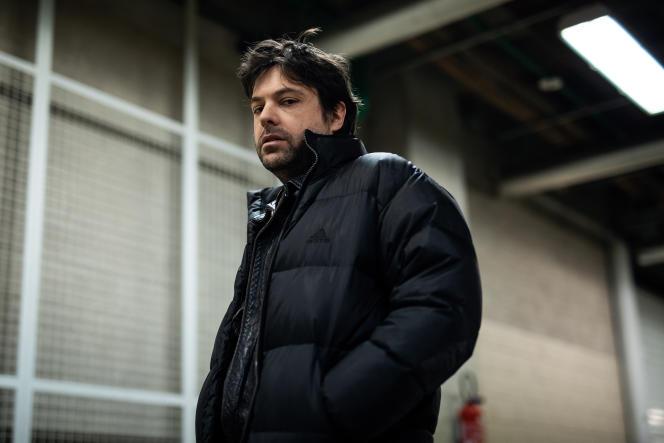 Virgil Vernier, en mars, à Paris.