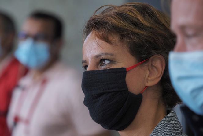 Najat Vallaud-Belkacem à l'Université d'été du Parti socialiste en août 2020.