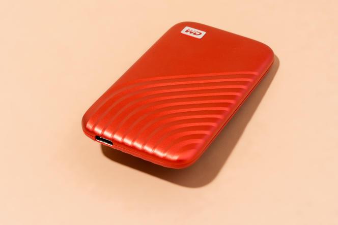 Le port USB-C du SSD My Passport de WD. WIRECUTTER / SARAH KOBOS