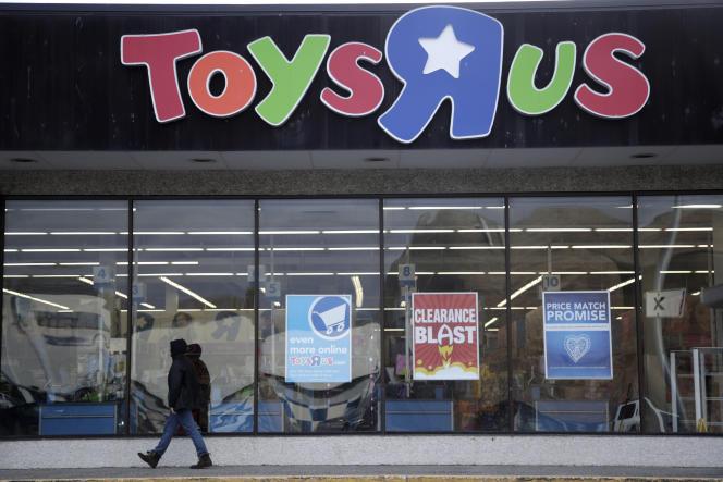 Un magasin Toys'R'Us , en janvier 2018, à Wayne (New Jersey).