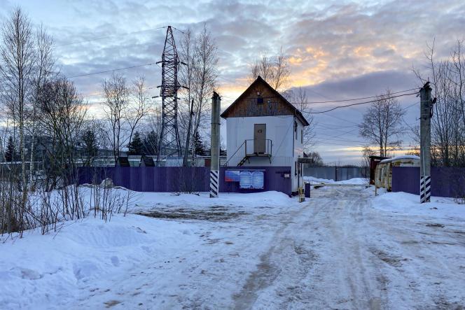 Pokrov Penalty Colony el 28 de febrero de 2021, a cien kilómetros de Moscú.  Alexei Navalny está encarcelado allí desde febrero.