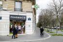 La pharmacie de la place Denfer Rochereau a Paris à commencé à vacciner ses clients le 15 mars 2021. Paris le 15 mars 2021.