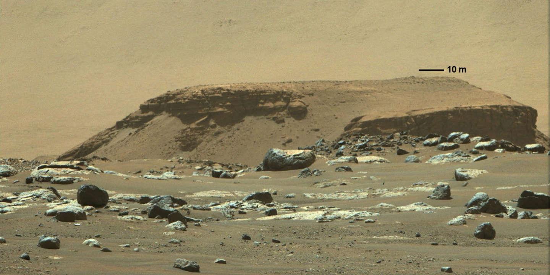 Les paysages de Mars gardent la trace d'un passé aquatique, mais où est passée l'eau?