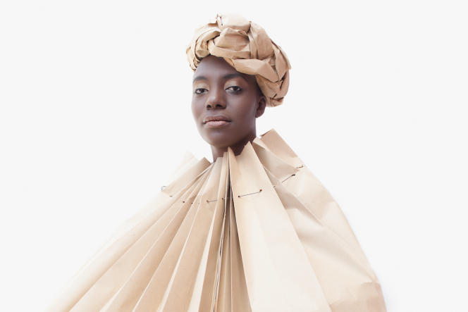 """""""Kraft"""", series """"The Future of Beauty"""", by Omar Victor Diop, 2011."""