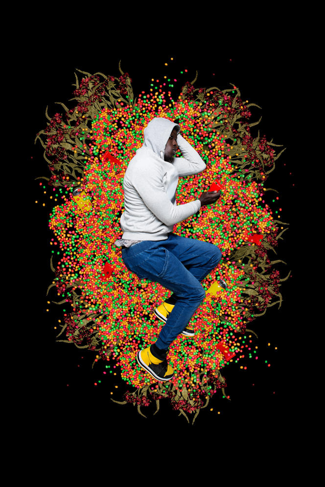 """""""Trayvon Martin, 2012"""", """"Liberty"""" series, by Omar Victor Diop, 2017."""