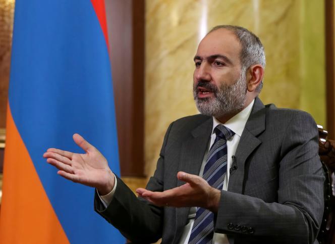 Le premier ministre arménien, Nikol Pachinian, le 13 octobre 2020.