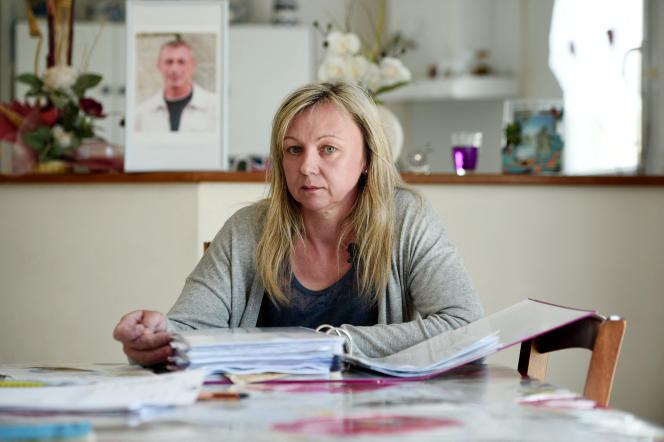 Edith Le Goffic (ici, le 9 juin 2015) vient d'obtenir la reconnaissance de la faute inexcusable de Nutréa dans le suicide de son mari.
