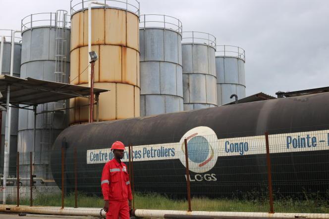 Le terminal pétrolier du port de Pointe-Noire, en décembre 2019.