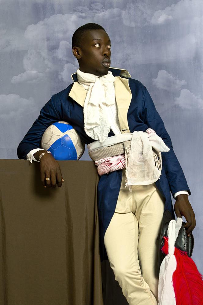 """Jean-Baptiste Belley"", ""Diaspora"" series, by Omar Victor Diop, 2014."