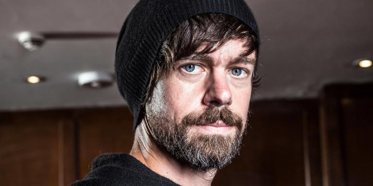 Mandatory Credit: Photo by Jeff Gilbert/REX (10301996c) Jack Dorsey, one of Silicon Valley's best known tycoons, photographed during Tech Week CEO and founder of Twitter press conference during Tech Week, London, Uk - 10 Jun 2019/Rex_CEO_and_founder_of_Twitter_press_conferenc_10301996C//1906111035