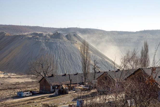 Le complexe minier de Cukaru Peki, près de Bor, en Serbie, le 3 mars 2021.
