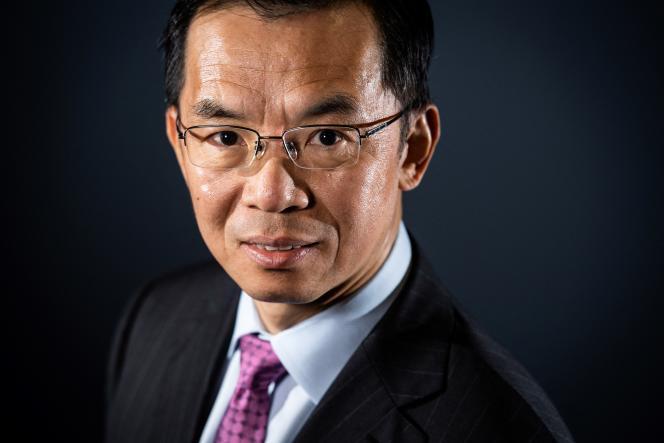 L'ambassadeur de Chine en France, Lu Shaye, le 10 septembre 2019 à Paris.