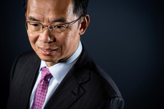 L'ambassadeur de Chine en France, Shaye Lu, à Paris, en septembre 2019.