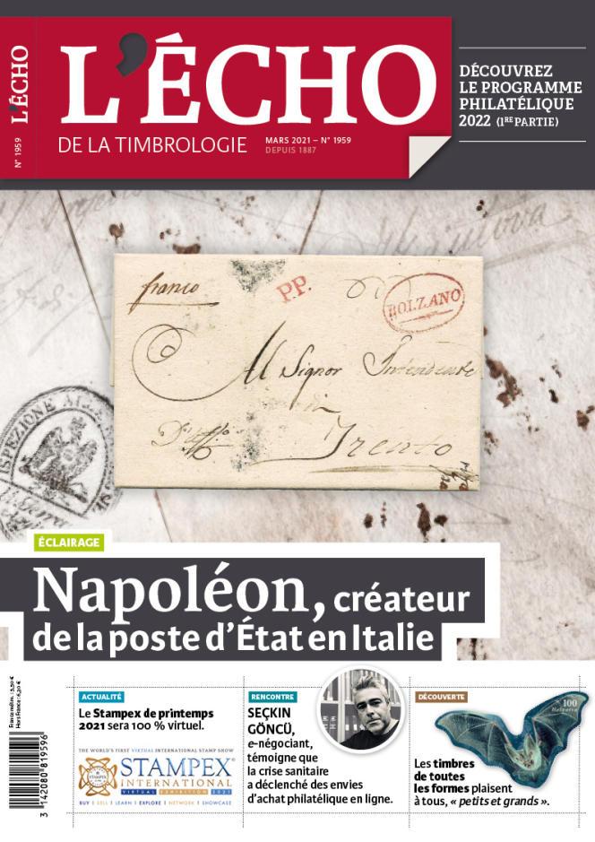« L'Echo de la timbrologie », 76 pages, 5,50 euros. En vente par correspondance ou par abonnement auprès de l'éditeur, Yvert et Tellier, 2, rue de l'Etoile, CS 79013, 80094 Amiens Cedex 3 (Tél. : 03-22-71-71-87).