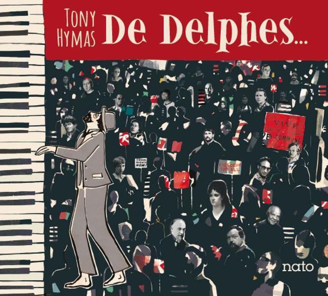 Pochette de l'album «De Delphes…», de Tony Hymas.