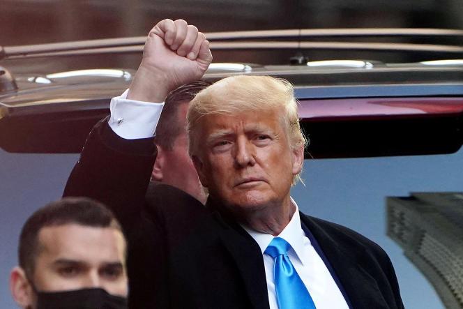 Twitter, qui fut le principal outil de communication de l'homme d'affaires new-yorkais, a supprimé le compte @realDonaldTrump, et ses 88millions d'abonnés, après l'assaut du Capitole par les partisans de l'ex-président.