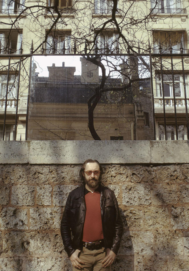 Jean-Michel Sanejouand, en 1973.