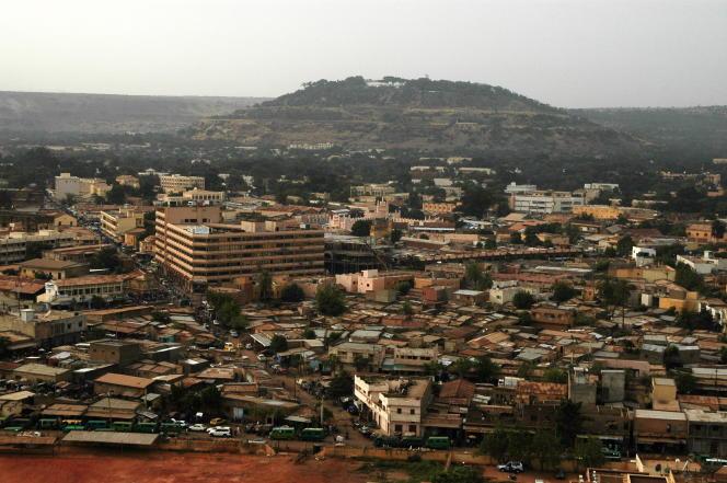 Vue de Bamako, capitale du Mali