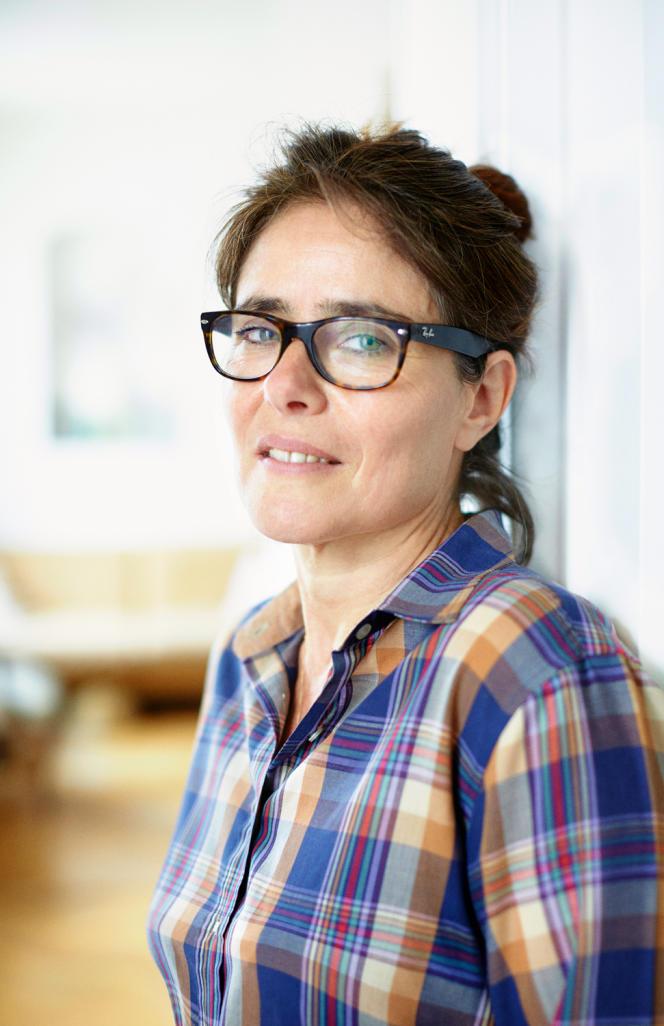 Rachèle Bevilacqua, directrice des Editions du Portrait.